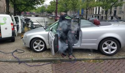auto interieur stomen amsterdam rotterdam Utrecht Den Haag